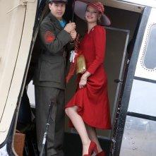 Jon Seda ed Anna Torv nella miniserie The Pacific