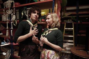 Robert Sheehan ed Amy Beth Hayes in Misfits