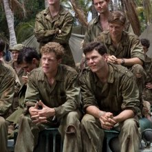 Tom Budge, Jacob Pitts, Joshua Helman, Ashton Holmes e James Badge Dale nella miniserie The Pacific