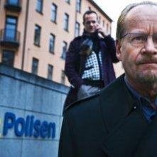 Anders Ahlbom è il cattivissimo dottor Teleborian nel film La regina dei castelli di carta