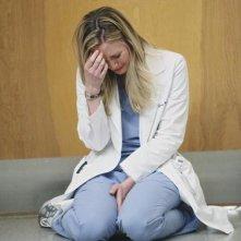 Grey's Anatomy: Chyler Leigh in una scena dell'episodio Push