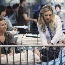 Grey's Anatomy: Chyler Leigh nell'episodio Push