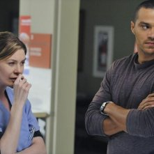 Grey's Anatomy: Ellen Pompeo e Jesse Williams nell'episodio Perfect Little Accident