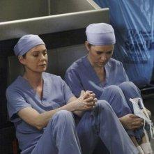 Grey's Anatomy: Ellen Pompeo e Sarah Drew nell'episodio Sanctuary