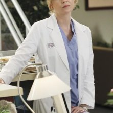 Grey's Anatomy: Ellen Pompeo in una scena dell'episodio Sympathy for the Parents