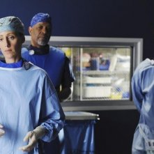Grey's Anatomy: James Pickens Jr., Kevin McKidd e Kim Raver nell'episodio Shiny Happy People