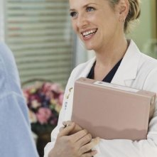 Grey's Anatomy: Jessica Capshaw in una scena dell'episodio Sympathy for the Parents