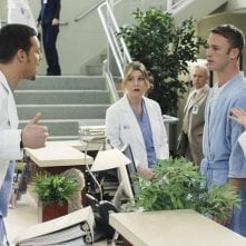 Grey's Anatomy: Justin Chambers, Jake McLaughlin ed Ellen Pompeo nell'episodio Sympathy for the Parents