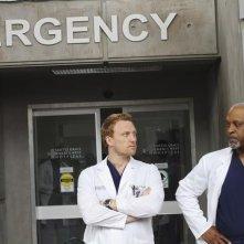 Grey's Anatomy: Kevin McKidd e James Pickens Jr. nell'episodio How Insensitive