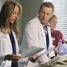 Grey's Anatomy: Kim Raver e Kevin McKidd nell'episodio Hook, Line and Sinner