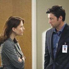 Grey's Anatomy: Patrick Dempsey e Mia Barron nell'episodio How Insensitive