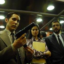 Javier Godino, Soledad Villamil e Ricardo Darínin un'immagine del film Il segreto dei suoi occhi