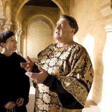 Johanna Wokalek e John Goodman nel film La Papessa
