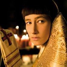 Johanna Wokalek in un'immagine del film La Papessa