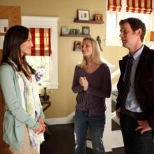 Parenthood: Minka Kelly, Monica Potter e Peter Krause nell'episodio What's Goin' On Down There?