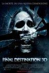 Poster italiano di The Final Destination 3D