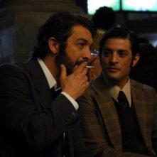 Ricardo Darín e Pablo Rago in una scena del film Il segreto dei suoi occhi