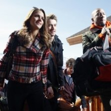 Shantel VanSanten, Robert Buckley e Antwon Tanner in Utah nell'episodio Almost Everything I Wish I'd Said the Last Time I Saw You