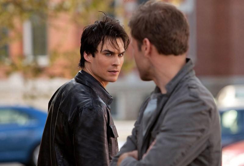Ian Somerhalder Discute Con Matt Davis Nell Episodio Isobel Di The Vampire Diaries 161095