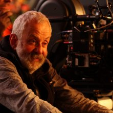 Mike Leigh sul set del film Another Year