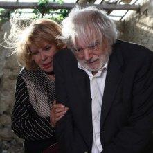 Antonella Lualdi e Franco Interlenghi in una scena del film La bella società