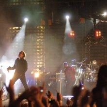 Il gruppo rock U2 ripreso nel film U2 3D