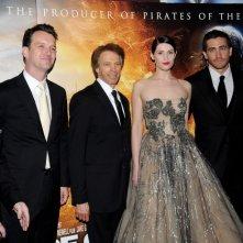 Jerry Bruckheimer, Sean Bailey, Jake Gyllenhaal, Rich Ross, Gemma Arterton e Diego Lerner alla premiere mondiale di Prince of Persia: Le Sabbie del Tempo