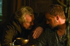Sul set di Robin Hood con Russell Crowe