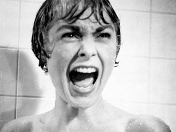 Wallpaper del film Psycho con Janet Leigh
