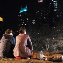 Adam (Hugh Dancy) e Beth (Rose Byrne) guardano insieme i cieli stellati di New York in Adam