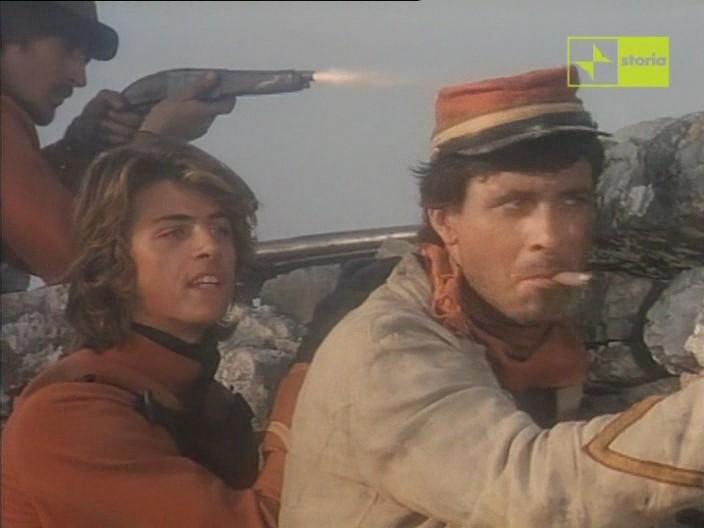 Antonio Orfano Con Kim Rossi Stuart In Una Scena Del Film Garibaldi Il Generale 1987 161537