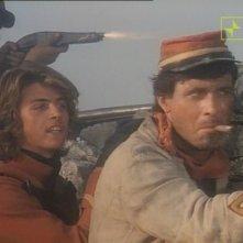 Antonio Orfanò con Kim Rossi Stuart in una scena del film Garibaldi - Il Generale (1987)
