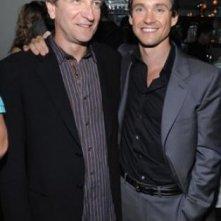 Hugh Dancy e il regista Max Mayer alla premiere del film Adam