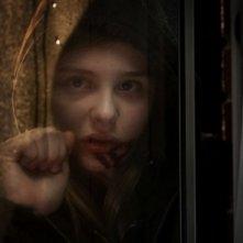 Un primo piano di Chloe Moretz in Let Me In