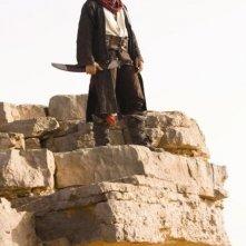 Il Principe Dastan (Jake Gyllenhaal) in un momento di concentrazione nel film Prince of Persia: Sands of Time