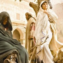 Jack Gyllenhaal, Alfred Molina e Gemma Arterton nel film Prince of Persia: Sands of Time