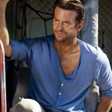 Bradley Cooper nel ruolo di 'Sberla' in una scena del film The A-Team