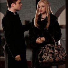 Chuck (Ed Westwick) e Georgina (Michelle Trachtenberg) nell'episodio Last Tango, Then Paris di Gossip Girl