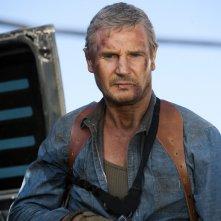 Liam Neeson è il Colonnello John 'Hannibal' Smith in una scena del film The A-Team