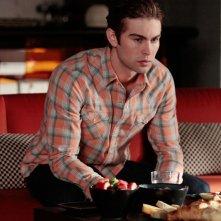 Nate (Chace Crawford) in una scena dell'episodio Last Tango, Then Paris di Gossip Girl