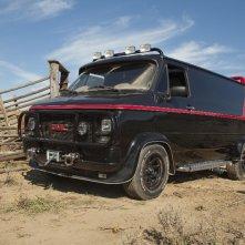 Un'immagine del famoso furgone dell'A-Team tratta dall'omonimo film