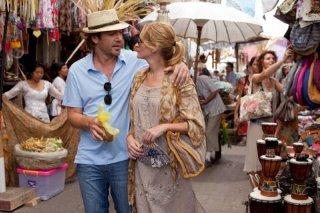 Julia Roberts e Javier Bardem in un'immagine del film Mangia, prega, ama