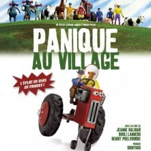 La locandina francese di A Town Called Panic