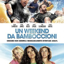 Locandina italiana per Grown Ups