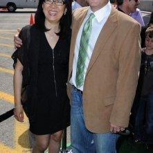 Mike Mitchell, regista del film Shrek e vissero felici e contenti alla premiere di Los Angeles