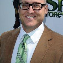 Primo piano del regista del film Shrek e vissero felici e contenti, Mike Mitchell, dalla premiere di Los Angeles