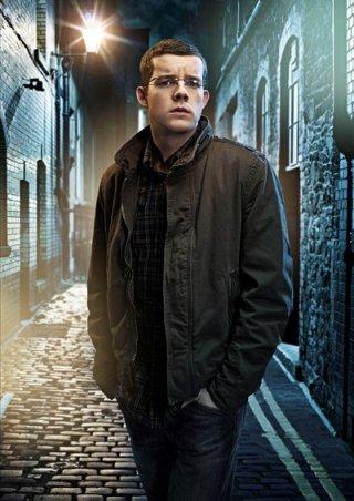 Russell Tovey è George in una foto promozionale della seconda stagione di Being Human
