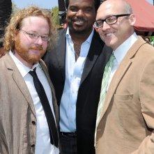 Walt Dohrn, Craig Robinson e Mike Mitchell alla premiere di Los Angeles del film Shrek e vissero felici e contenti