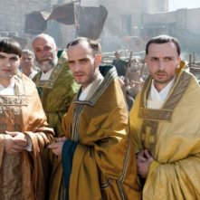 Anatole Taubman, Branko Tomovic e Richard van Weyden nel film La Papessa