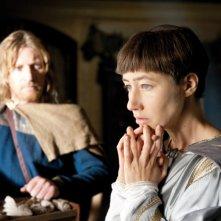 David Wenham e Johanna Wokalek in un'immagine del film La Papessa